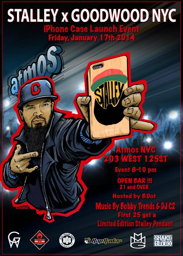 Its going down Jan.17th!  with @Stalley  & @DJBOBBYTRENDS  at @atmosNYC !! http://t.co/64sGrdtdce