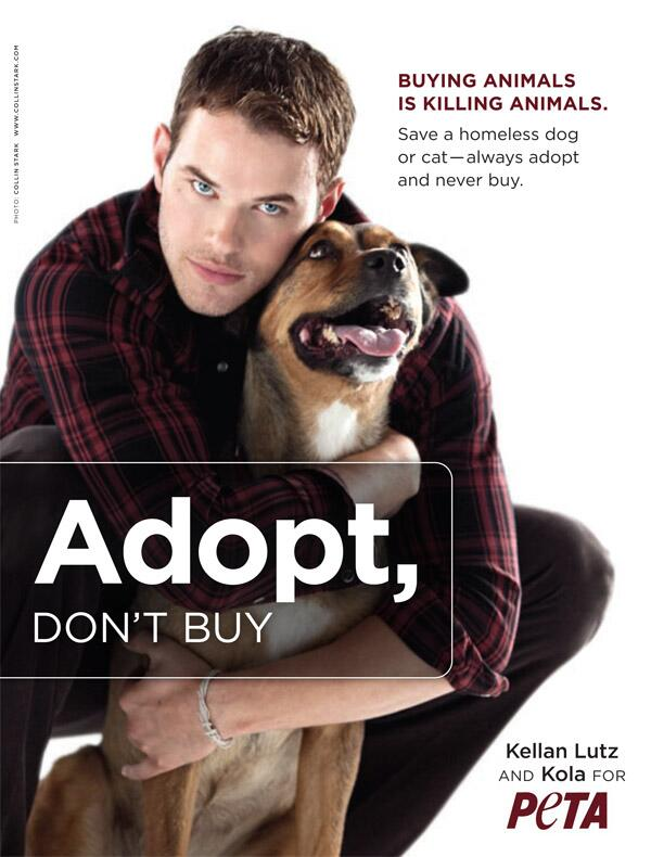 RT : #FBF to when heartthrob & his adorbs rescued mutt Kola asked fans 2 #AdoptDontBuy