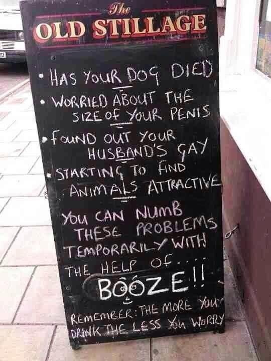 Great sign for a pub http://t.co/QQeY6TcpGb