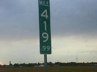 Lol! RT @JournalistsLike: People kept stealing the 420 mile marker in Colorado. This was CDOT's solution. http://t.co/nHmONkoCUv