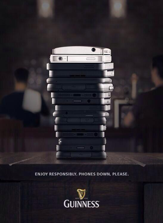 I love this Guinness advert (brought to my attention by @HelReynolds). It's a great idea, well executed http://t.co/itwQGiyt74