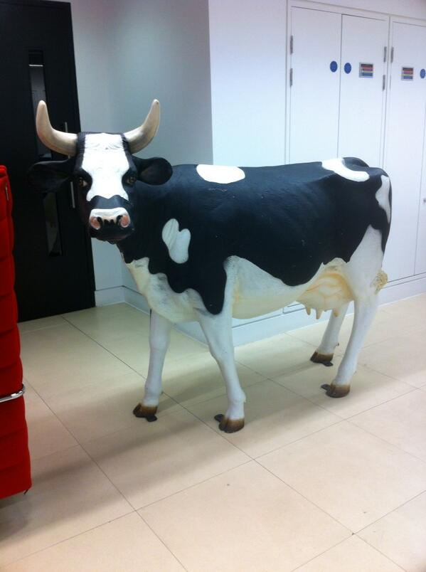 J P Devlin (@devlin_jp): Spotted this wandering on the 7th floor of Broadcasting House http://t.co/YwrO3WJjaK