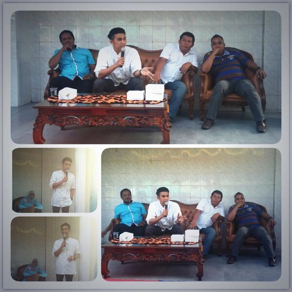 Sosialisasi dan dialog dgn warga sekitar Jl. Cempaka Pekanbaru @Indra_Sinaga http://t.co/l5fbyRl5e3