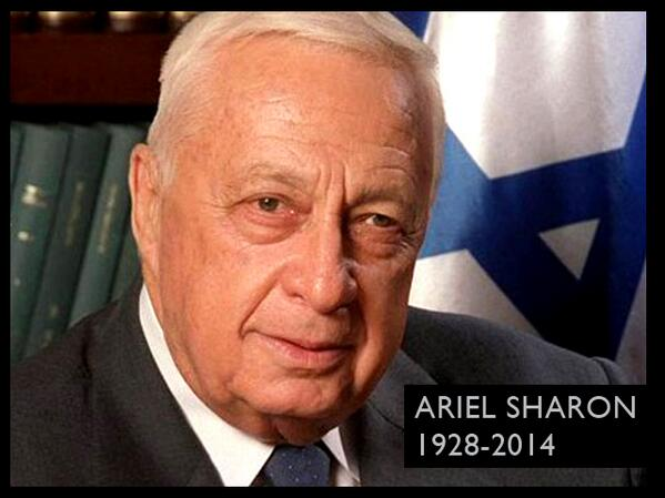 For those keeping Shabbat, former Israeli Prime Minister Ariel Sharon died today. May his memory be for a blessing. http://t.co/jhkWBqGBIe