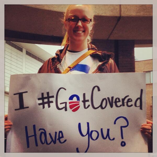Elizabeth wasn't sure she'd get a good deal on health insurance. Boy was she wrong. #GotCovered #OFAction http://t.co/MiZZ9qIblK