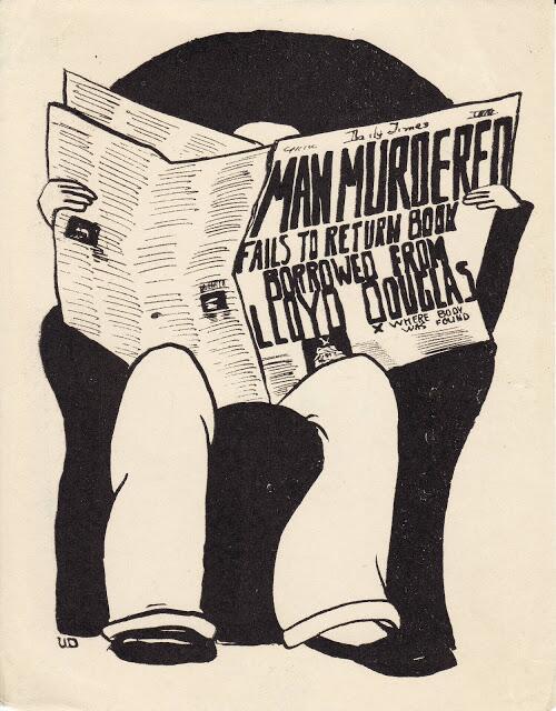 Ex libris de un tipo a quien no le gustaba nada que no le devolvieran los libros que prestaba. http://t.co/ZpTCM3jM8w http://t.co/XhQcAHVTS8