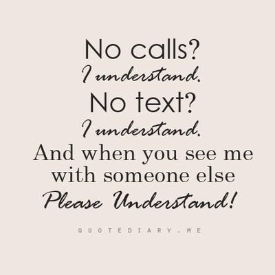 ladies we understand no calls no text understand pic
