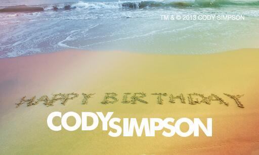 Happy Birthday to our favorite Aussie, @CodySimpson! http://t.co/wElKjSqX5C