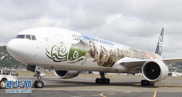 El Hobbit ya tiene su B-777 en Air New Zealand. Mira las fotos. http://t.co/3ZfmHoMtlF