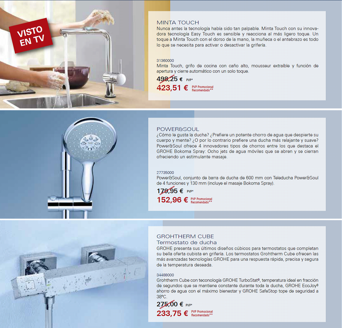 Ultima promoción @grohe disponible por pedidos en tc@todoconstruccion.com http://t.co/7IO3RNDmZI