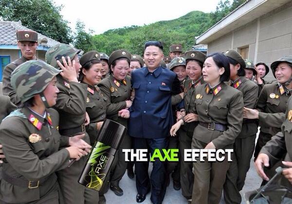 RT @MathieuFlex: The Axe Effect http://t.co/Vj3AMCvPge