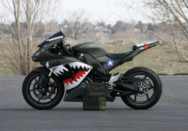 "#Kawasaki Fan Photo of the Week - ""Kawasharky"" from Chrevis http://t.co/jYfPi7d3RC"