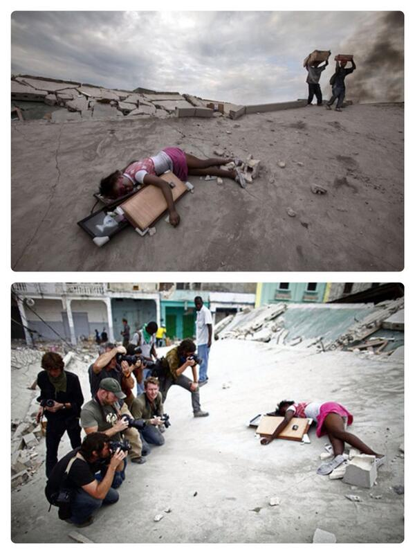 The first picture won a prize and the second one became controversial #perspective http://t.co/dWU14ui0xq