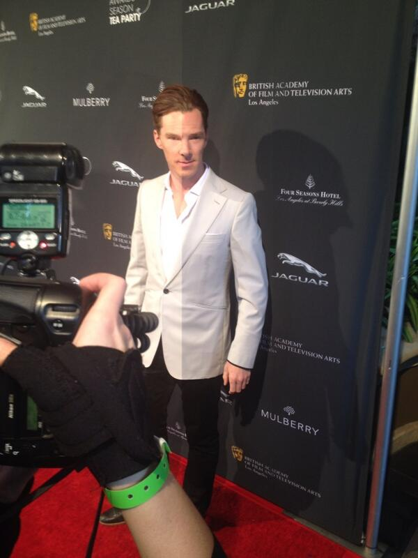Some of you have been asking for this one...#BenedictCumberbatch #AwardsTea http://t.co/ukLGsZsR4V