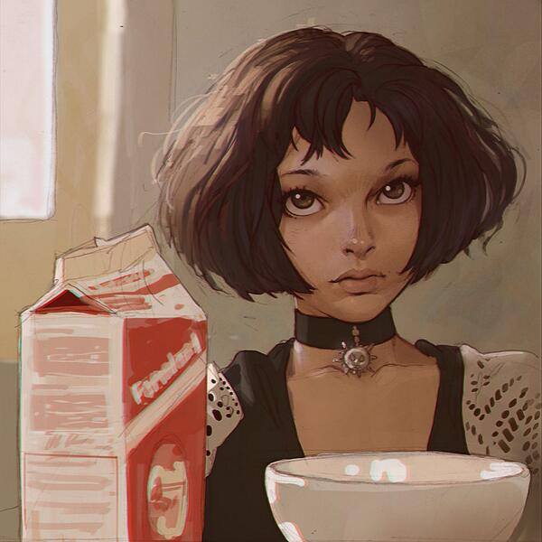 Matilda, Leon. Sublime, beautiful art from Kr0npr1nz. Great start to the week #love http://t.co/kDrORI7SWf http://t.co/kEf8Y9vsvz