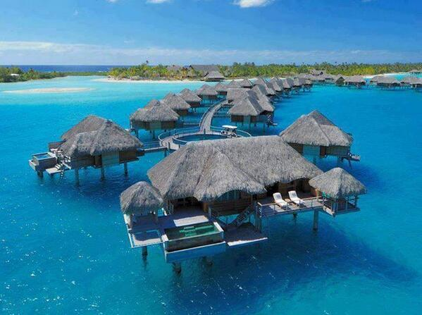 Four Seasons Hotel, Bora Bora http://t.co/Y8byQqZZRl