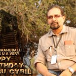 RT @BaahubaliMovie: Happy Birthday Sabu Cyril, #Baahubali Production Designer. Wishing for more masterpieces from the man of many talents h…