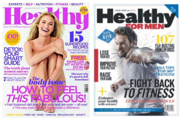 """My kids noticed the difference in Holland & Barrett's mag covers yesterday (""""Why is she naked? Why's he fighting?"""") http://t.co/wDNE5Cw0YY"""