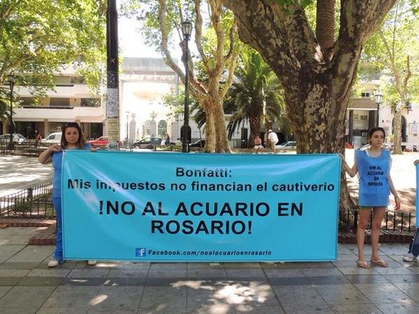 Rosario quiere abrir un acuario??? Qué les pasa?? Cuánta involución por favor! #Noalosoceanarios @RevistaLima http://t.co/cqNSMSJkv0