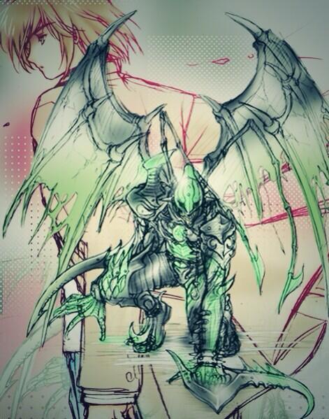 そして(<::V::>) これにてダブルジョーカー  #仮面ライダー剣 #剣10年祭 http://t.co/jDamuZAud6