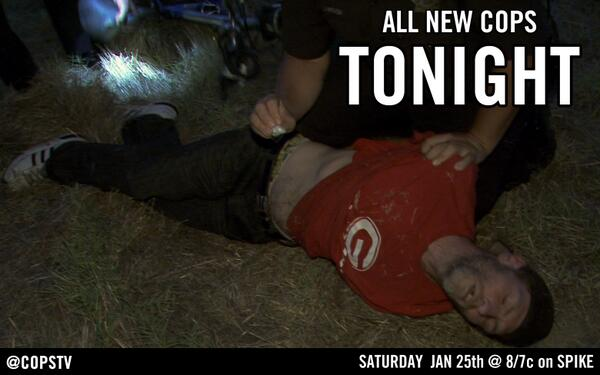 All New #COPSTV - Tonight @ 8/7c on Spike!  Preview --> http://t.co/EbtJETryWA http://t.co/0Qppjt6G6L