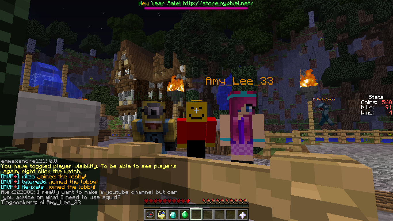 RT @FifaWardyHD: Me @ClaimGaming and @AmyLee_thirty3 Chilling on hypixel! http://t.co/90vBeboEOP