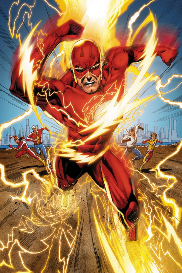 RT @EthanVanSciver: RUN BARRY RUN!!!  #Flash #DCComics @VanSciverBuzz http://t.co/PMAQgaEPc4