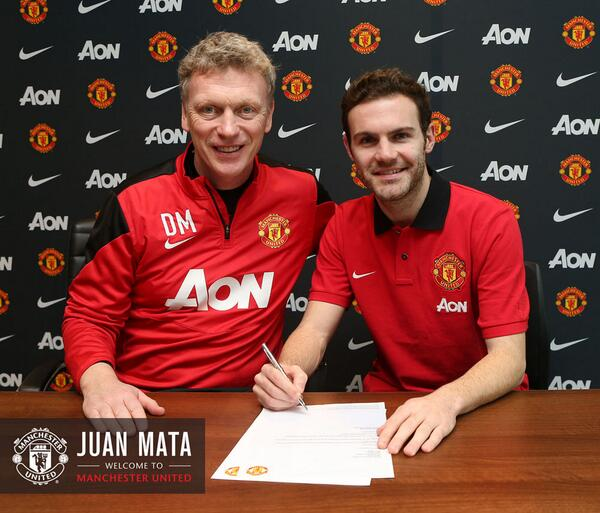 Juan Mata has completed his move to #MUFC. Fee confirmed to be £37.1m (Via @ManUtd) http://t.co/SnbxvDvhsB