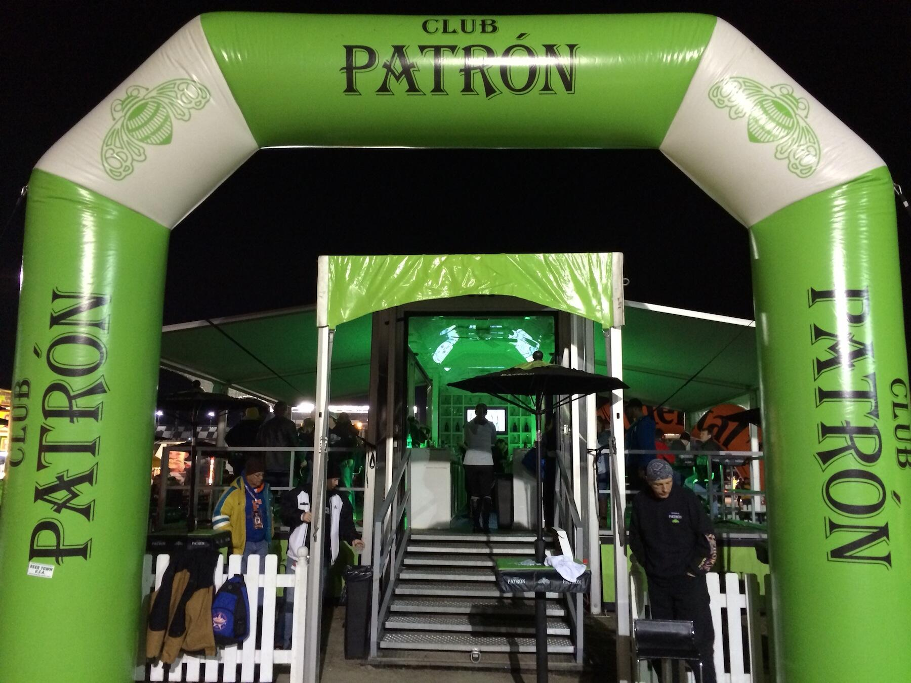 Late night? Swing by Club Patron for drinks during the race! #Rolex24 http://t.co/nQyQIOJR6e