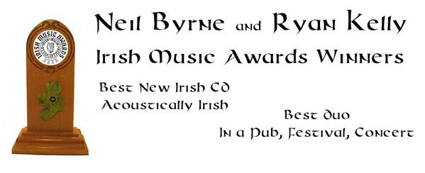 Acoustic Candlelight (@acousticbc): Thank you all so much for voting and supporting us we are delighted to win both awards @neilbyrne_CT @RyanKellyMusic http://t.co/EhA1Fyci3x