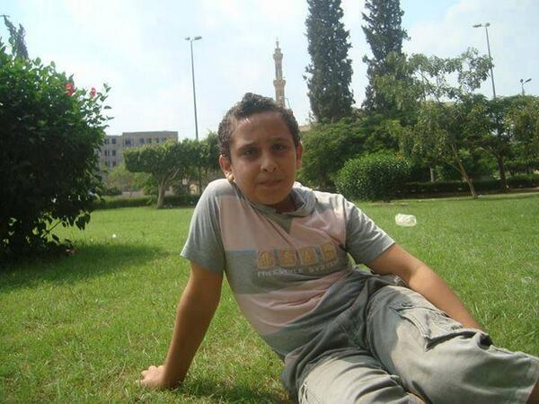 This 13 year old boy was killed by #Egypt security forces today, shot in the stomach! #Jan25 http://t.co/iOvvnQuObh