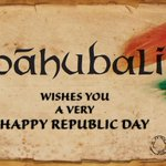 RT @BaahubaliMovie: Happy Republic Day 2014 - Team #Baahubali http://t.co/XfXCmc2YPO
