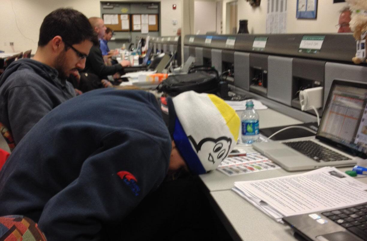 @GearboxGirl double stint suffered setback when overnight comms in pressroom led to loss of consciousness http://t.co/cmJTYPK2d3