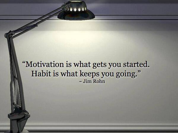 Work on creating great habits and you are on the road to excellence... #leadership http://t.co/EBsj18jGKc