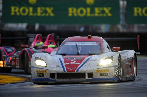 It's over! Joao Barbosa gives the Action Express Corvette DP the overall win in the 52nd #Rolex24 http://t.co/y59VqRweqs