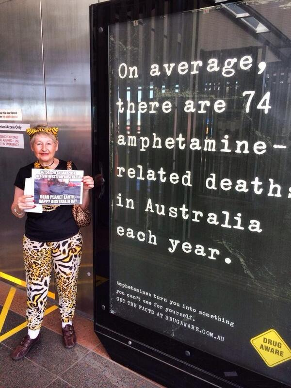 My shame on Australia Day. Campaigning against shark cull.  #noWASharkCull  Pls RT http://t.co/nhjC6gnQvg