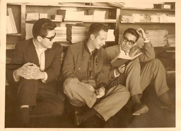 Pacheco, Pitol y Monsiváis, jovencísimos (vía @david_mtz): http://t.co/FgMxq30G8p
