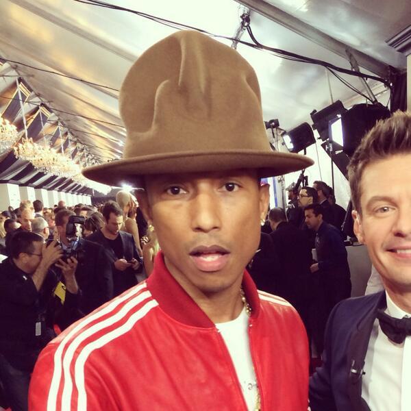 Pharrell Hat Trend Pharrell's Hat Just