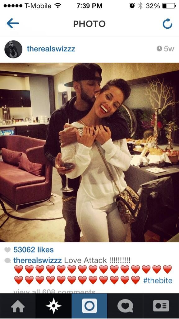 Idc if y'all call her a home wrecker I LOVE Alicia & Swizz together http://t.co/NMoXnmDgq2