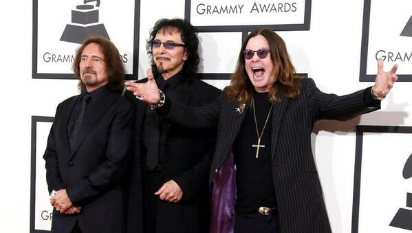 .@OfficialSabbath and #RSD11 Ambassador @OfficialOzzy look happy to have the Grammy Award for Best Metal Performance! http://t.co/IM7eyN0hNB