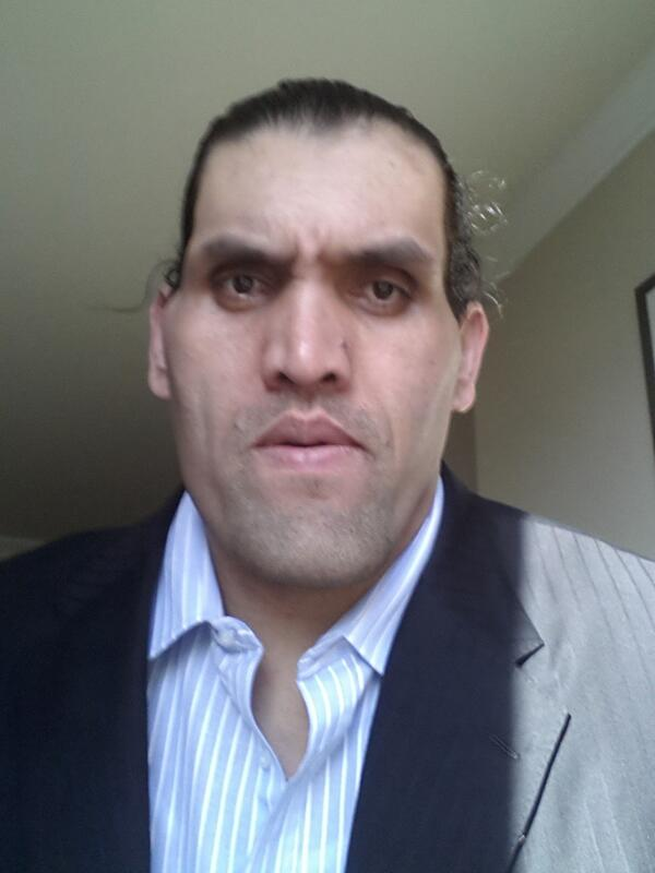 Psa the great khali has the greatest twitter feed of all time the intensity the great khali greatkhali voltagebd Images