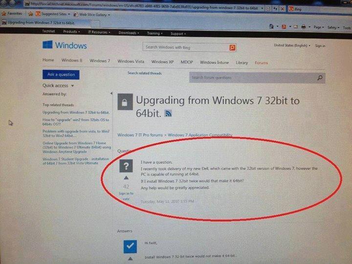 Как сделать windows 32 bit на 64 bit