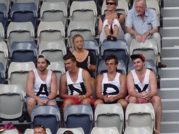 Just lovely to see and hear the ANDY boys back in action here in Melbourne :) #legends @ShaneBullen http://t.co/KvxY7ABtc7