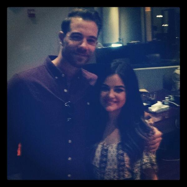 Shared the stage with the talented @lucyhale. #Hollywoodrecords #imakeahideouslittleliar http://t.co/bXNUIX7H37