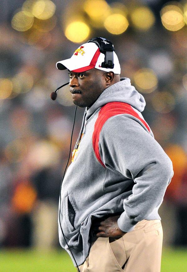 We lost a great man today in Coach Bray. Our thoughts and prayers go out to his family. #Cyclones http://t.co/PuA96HqU9V