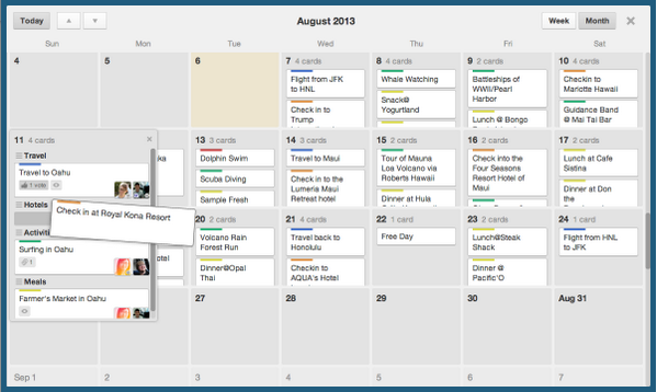 Did you know that Trello has a calendar view for boards?  http://t.co/mf6VpttB1A http://t.co/6n7vp7avJf