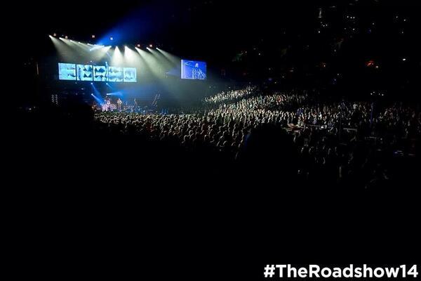 RT @bkcreationz: San Jose 2mrw w/ @andymineo & @drethegiantnyc!  #theroadshow14 http://t.co/F9Njih3wrF