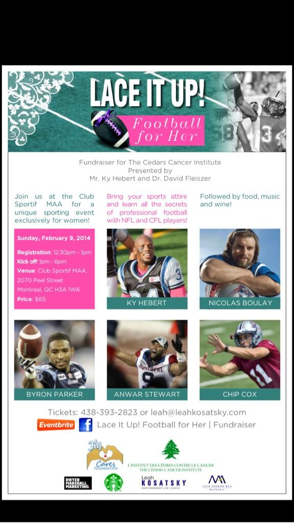 #Ladies join us to learn all the #secrets of #profootball http://t.co/iDgBLHZKym