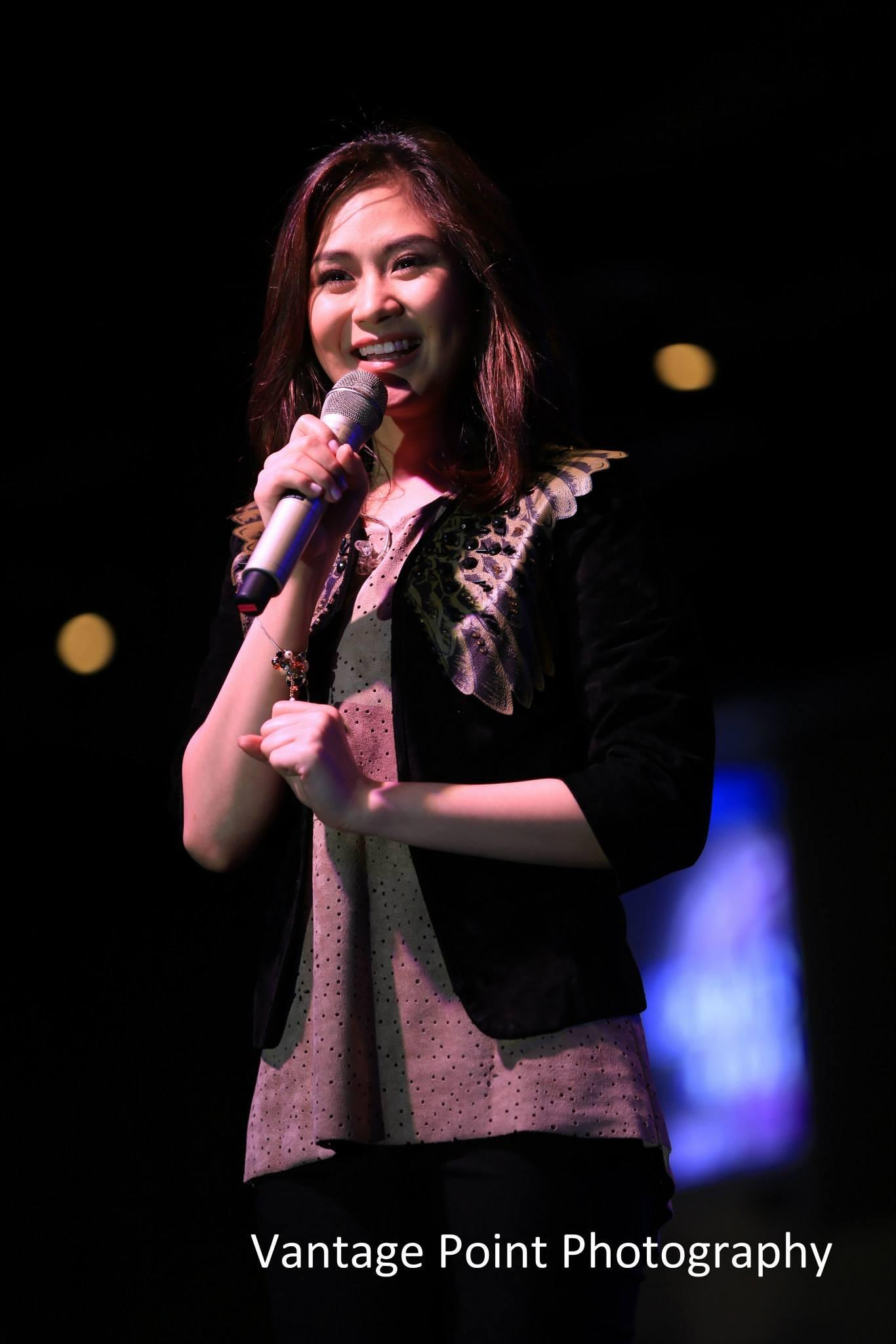 Sarah G. performs in her Harbor Point, Subic Album Tour. (c)vantagepointphotography : http://t.co/dH52KGeuMH