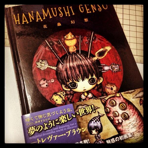 【告知】花蟲さんの画像「HANAMUSHI GENSO」に「HANAMUSHI GIRLS」の @aikapin が掲載されています(*´艸`*) Photographerとして、私と@usamomo_i も参加させて頂いています! http://t.co/s9KNKfpIaJ